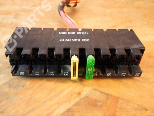 MERCEDES-BENZ: 0025450901 Caja reles / fusibles SPRINTER 3,5-t Van (906) 315 CDI (906.631, 906.633, 906.635, 906.637) (150 hp) [2006-2009]  3510941
