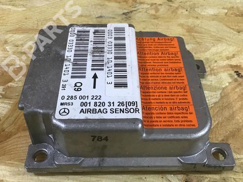 MERCEDES-BENZ: 0018203126 Centralita airbag A-CLASS (W168) A 170 CDI (168.009, 168.109) (95 hp) [2001-2004] OM 668.942 7168555