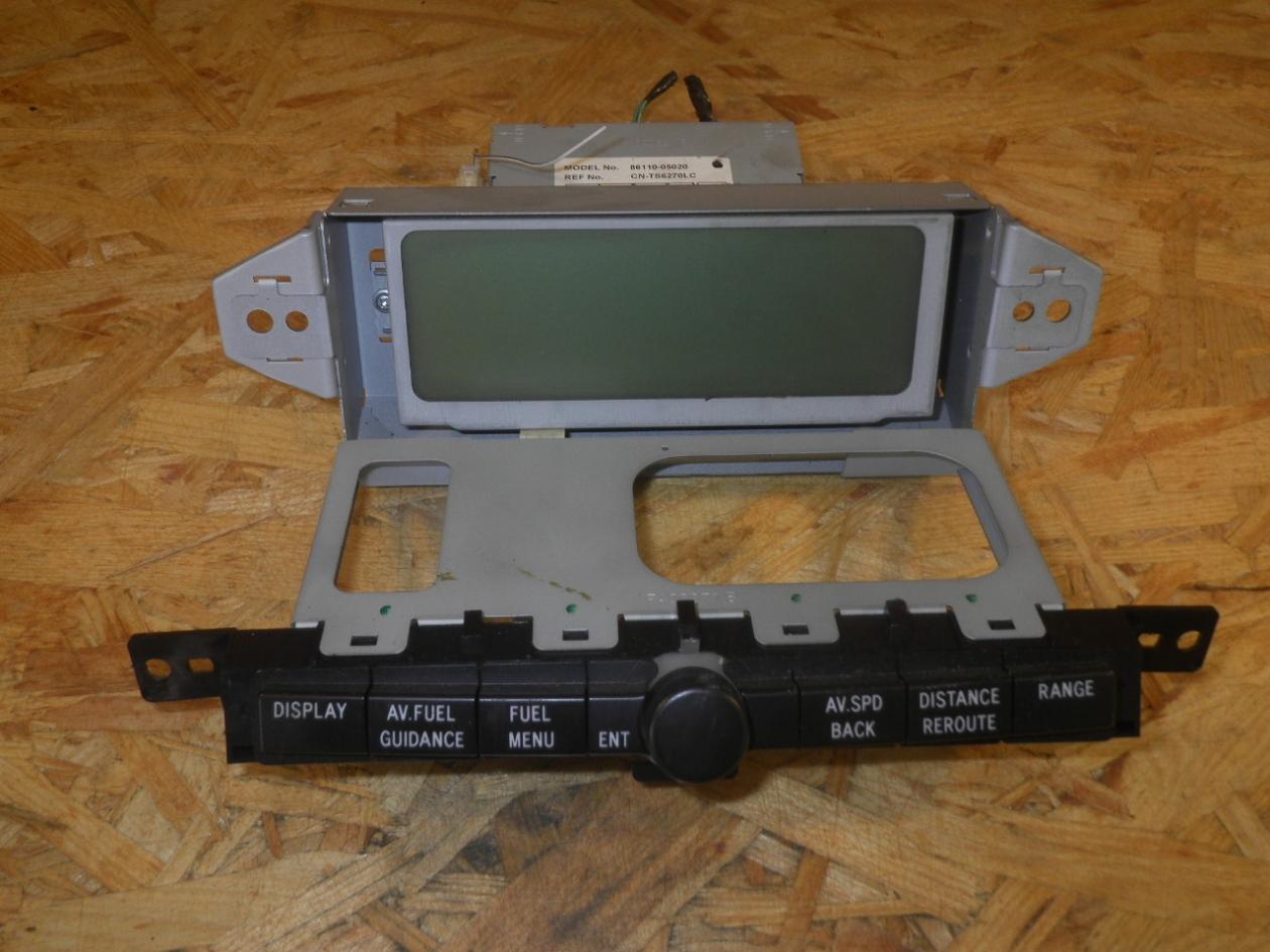 8611005020 TOYOTA AVENSIS Genuine pannello di controllo multi funzionale schermo