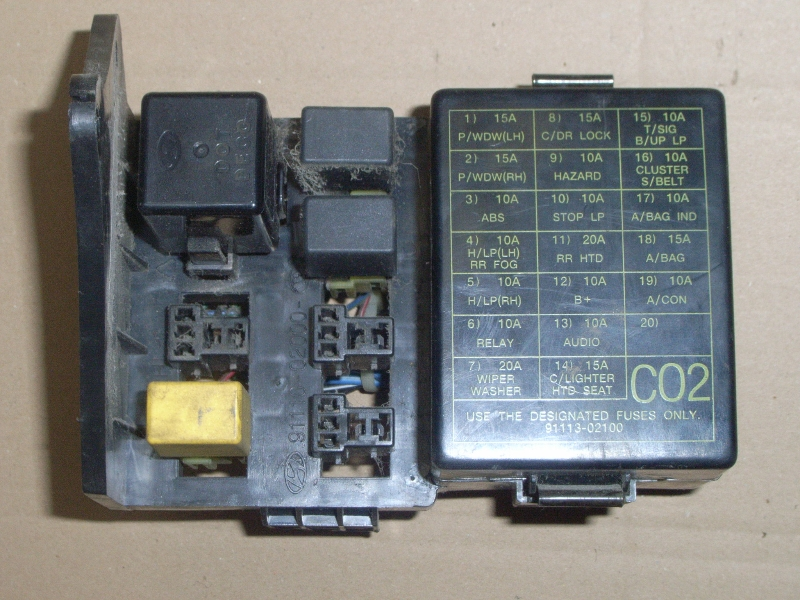 Fuse box HYUNDAI ATOS (MX) 1.0 i | B-Parts | Hyundai Atos Prime Fuse Box |  | B-Parts