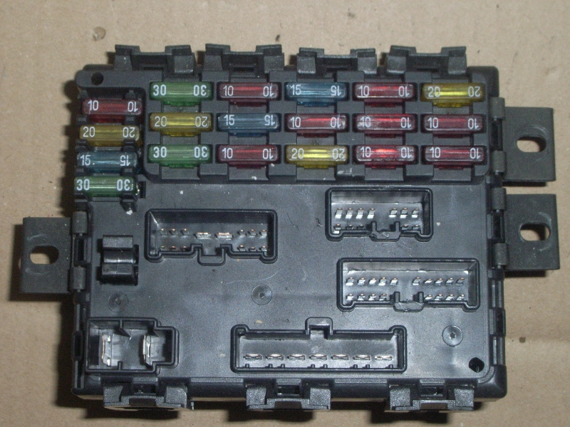 Fuse Box On A Fiat Multipla