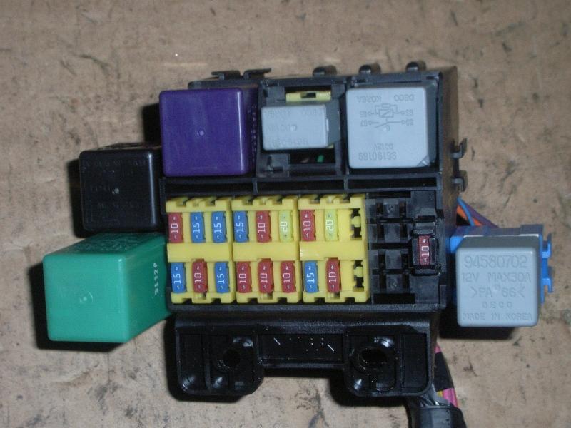 fuse box daewoo kalos (klas) 1.2 | b-parts  b-parts