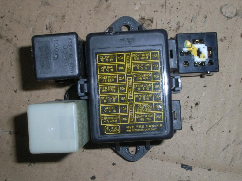 [SODI_2457]   Fuse Box DAEWOO MATIZ (M100, M150) 1.0 | B-Parts | Chevrolet Matiz Interior Fuse Box |  | B-Parts