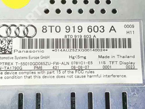 Modulo electronico AUDI A4 (8K2, B8) 2.0 TDI 8T0919603A | 34547623