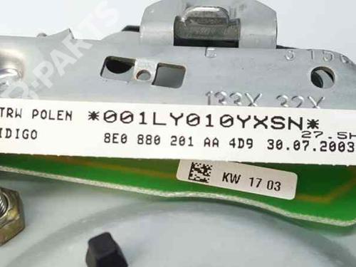 Airbag delantero izquierdo AUDI A4 Convertible (8H7, B6, 8HE, B7) 2.5 TDI 8E0880201AA | 8E0880201AA4D9 | 34948643