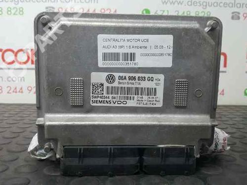 06A997034RX | 5WP40344 | 06A906033GQ | Motorstyringsenhet A3 (8P1) 1.6 (102 hp) [2003-2012] BSE 2735740
