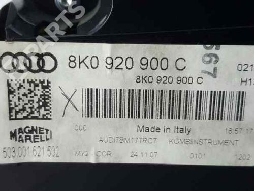 Kombiinstrument AUDI A4 (8K2, B8) 2.0 TDI 8K0920900C | 34975677