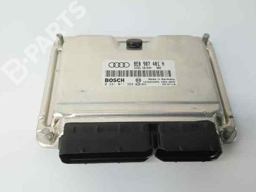 Motorstyringsenhed AUDI A4 Convertible (8H7, B6, 8HE, B7) 2.5 TDI 8E0907401H | 0281011388 | 1039S03005 | 34917148