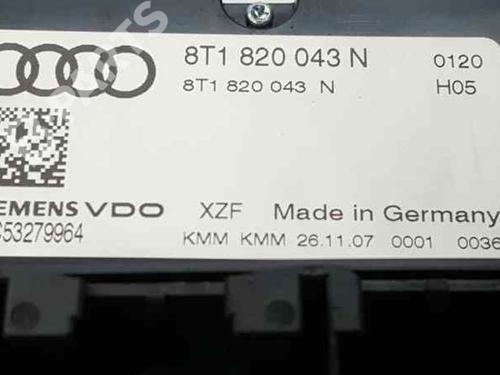 AC-Styringsenhed/Manøvreenhed AUDI A4 (8K2, B8) 2.0 TDI 8T1820043N | A2C53279964 | 34974037