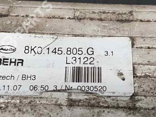 Intercooler AUDI A4 (8K2, B8) 2.0 TDI 8K0145805G | L3122 | 35418558