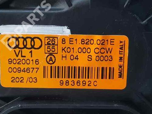 Varmeblæser AUDI A4 Convertible (8H7, B6, 8HE, B7) 2.5 TDI 8E1820021E | 983692C | K01000CCW | 34948624