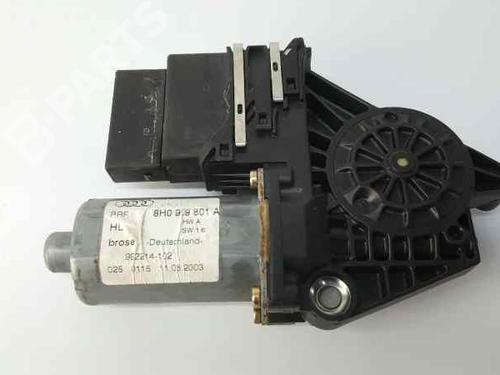Rudehejsemekanisme venstre bagtil AUDI A4 Convertible (8H7, B6, 8HE, B7) 2.5 TDI (163 hp) 8H0959801A | 992033-102 | 0130821732 |