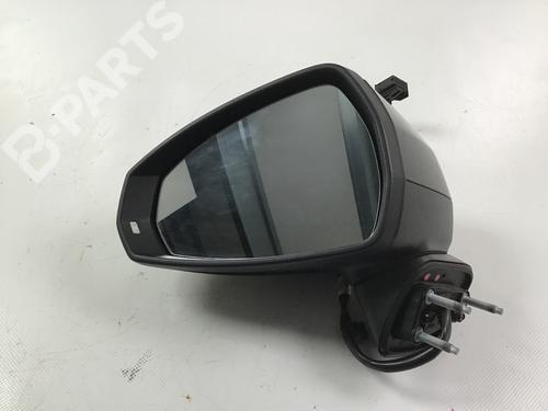 AUDI: 8V2857409F Ryggespeil venstre A3 Sportback (8VA, 8VF) 1.4 TSI (150 hp) [2014-2021]  6106731