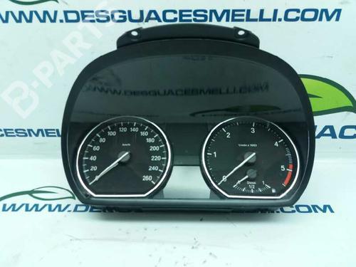 Cuadro instrumentos BMW 1 Coupe (E82) 120 d (177 hp) 916682301  
