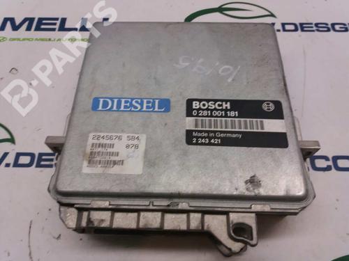 0281001181 | Centralita motor 5 (E34) 525 tds (143 hp) [1991-1995] M51 D25 (256T1) 2856329