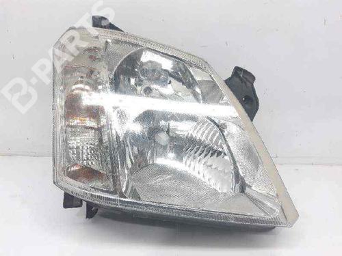 93321053 | Lyskaster høyre MERIVA A MPV (X03) 1.6 16V (E75) (100 hp) [2003-2006] Z 16 XE 4945405