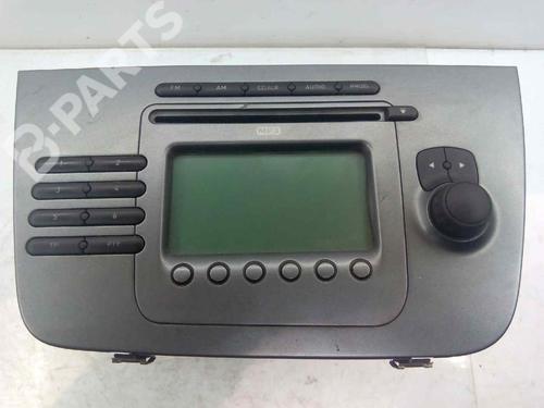 5P0035186B | 8157646636366 | SEZ1Z3G7947385 | Autoradio ALTEA XL (5P5, 5P8) 1.9 TDI (105 hp) [2006-2021] BXE 3074669