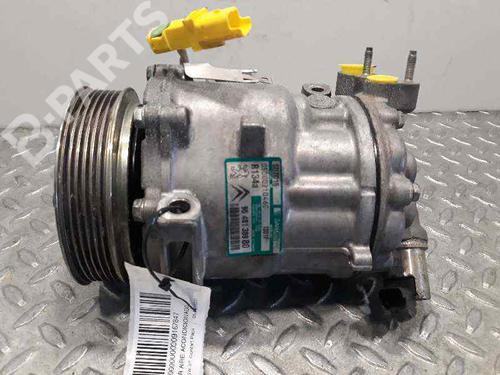 648779 | SD7C161301F | 9648138980 | Compressor A/C 407 SW (6E_) 2.0 HDi 135 (136 hp) [2004-2010] RHR (DW10BTED4) 6911503