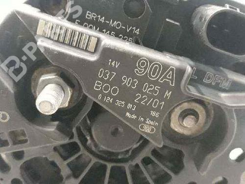 Alternateur SEAT IBIZA II (6K1) 1.4 037903025M | 0124325013 | 33255195
