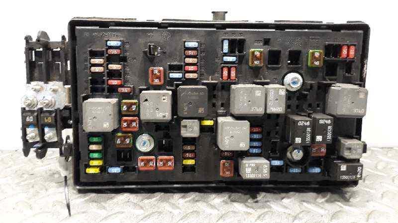 Fuse box CHEVROLET ORLANDO (J309) 2.0 D 95298233 | 13255300 | 529050199 |  B-Parts | Chevrolet Orlando Fuse Box |  | B-Parts