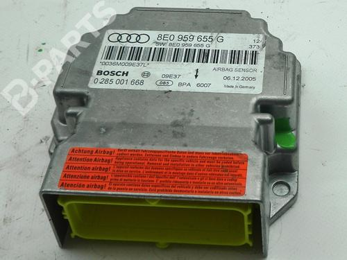 AUDI: 8E0959655G Kollisjonspute styreenhet A4 (8EC, B7) 2.0 TFSI quattro (200 hp) [2004-2008]  3002880