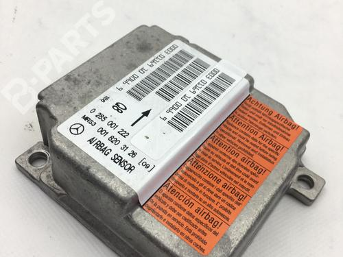MERCEDES-BENZ: 0018203126 Centralita airbag A-CLASS (W168) A 160 CDI (168.006) (75 hp) [2001-2004] OM 668.940 7183512