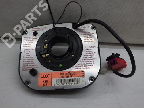 AUDI: 4D0951543D Kontaktrulle Airbag 100 (4A2, C4) 2.6 (150 hp) [1992-1994] ABC 6079355