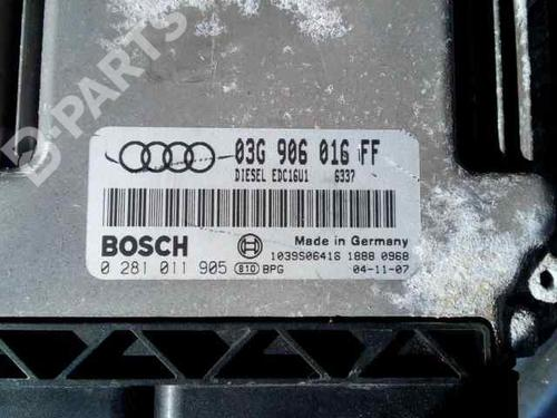 03G997016FF | Calculateur moteur (ecu) A3 Sportback (8PA) 2.0 TDI 16V (140 hp) [2004-2013] BKD 3172902