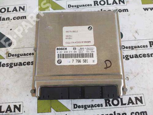 0281010314 | Centralina do motor 5 (E39) 530 d (184 hp) [1998-2000]  4058585