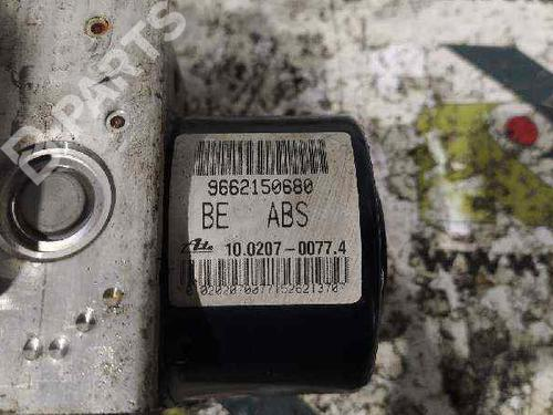 9662150680 | Módulo de ABS 207 (WA_, WC_) 1.4 HDi (68 hp) [2006-2015] 8HZ (DV4TD) 6024518
