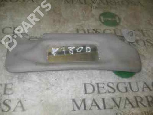 Right  Sun Visor FIESTA III (GFJ) 1.1 (50 hp) [1989-1995]  3761153