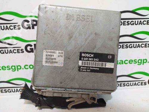 0281001243 | Centralina do motor 3 (E36) 318 tds (90 hp) [1995-1998]  7150827