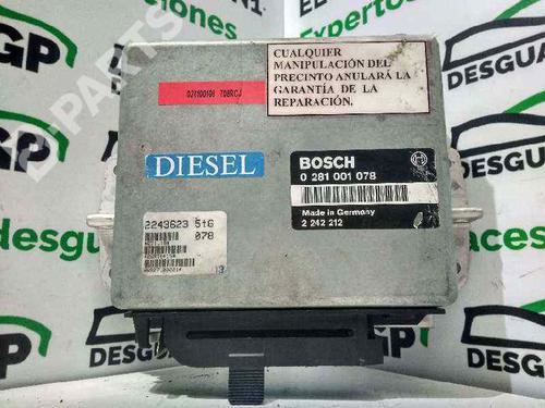 0281001078 | Centralina do motor 5 (E34) 524 td (115 hp) [1988-1991]  7143205
