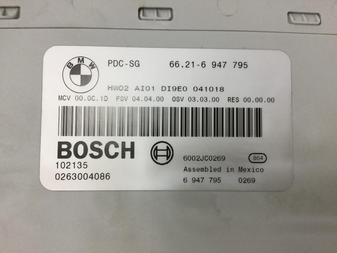 BMW 1 Série 118 120 Body Control Module 9119493