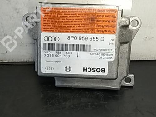 8P0959655D Steuergerät Airbag A3 (8P1) 2.0 TDI (136 hp) [2003-2012] AZV 4487640