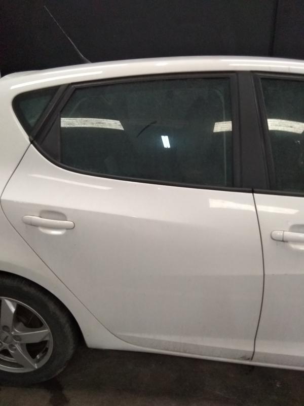 Roof spoiler Seat Ibiza 6J 5-doors 2008- Type 1