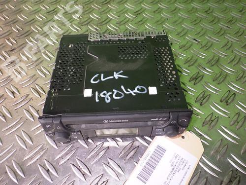 : A1708200186 Sistema audio CLK (C208) 230 Kompressor (208.347) (193 hp) [1997-2000]  4918350
