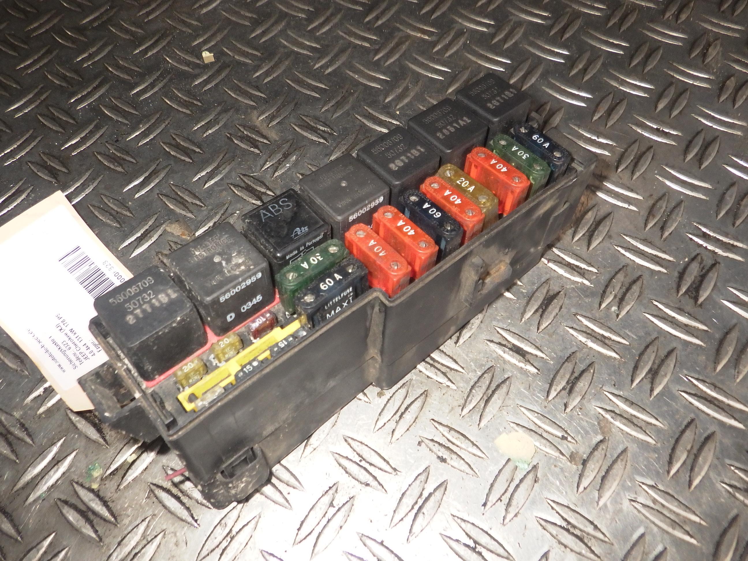 Fuse Box Jeep Cherokee Xj 4 0 4x4 Jeep 56006709 56008894 B Parts