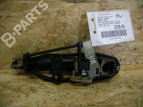 Højre fortil udvendigt håndtag 3 (E46) 318 i (118 hp) [1997-2001]  5051475