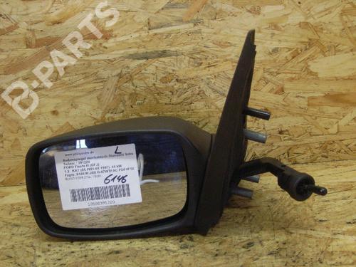 Left Door Mirror FIESTA III (GFJ) 1.3 Cat (60 hp) [1991-1997] J6B 5284865