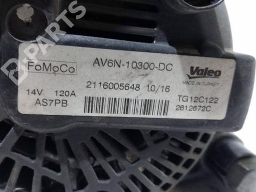 Alternador FORD TRANSIT COURIER B460 Box Body/MPV 1.5 TDCi 2116005648 31289812