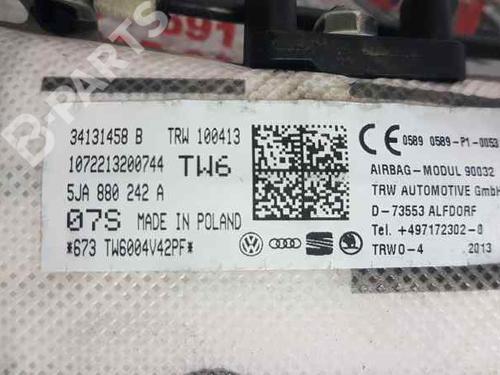 Airbag rideau droite SEAT TOLEDO IV (KG3) 1.6 TDI 5JA880242A | 30158317