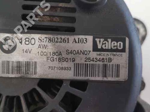 Lichtmaschine BMW X3 (E83) 2.0 sd 2543461B | 7802261 | 36945527