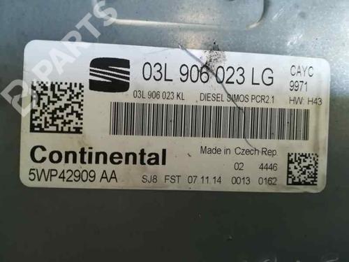 Calculateur moteur (ecu) SEAT ALTEA XL (5P5, 5P8) 1.6 TDI 03L906023LG | 5WP42909AA | 30158369