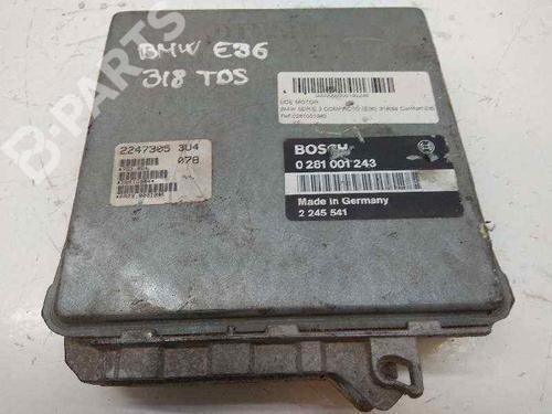 0281001243 | Centralina do motor 3 Compact (E36) 318 tds (90 hp) [1995-2000]  5292575