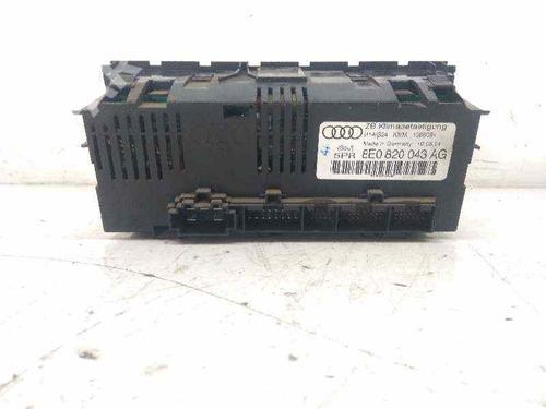 AC-Styringsenhed/Manøvreenhed AUDI A4 Avant (8ED, B7) 2.0 TDI 8E0820043AG | 34466031