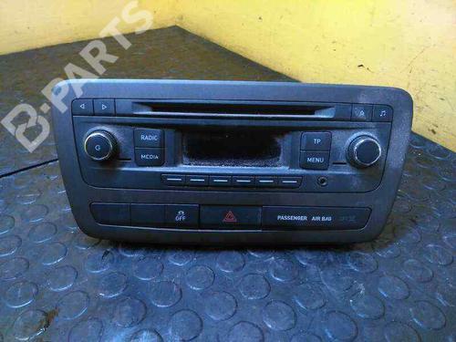 6J0035156   Auto-radio IBIZA IV (6J5, 6P1) 1.6 TDI (90 hp) [2009-2015] CAYB 5306119