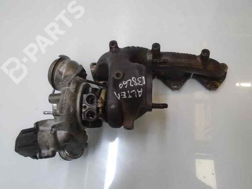 03C145702L | 4937301005 | TD025M207T | Turbo ALTEA XL (5P5, 5P8) 1.4 TSI (125 hp) [2007-2021] CAXC 7122066