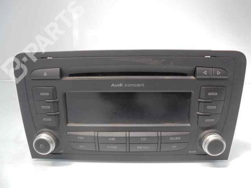 7640276380 | 8P0035186AB | Bilradio A3 Convertible (8P7) 1.6 TDI (105 hp) [2009-2013] CAYC 6131080