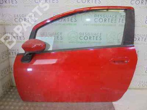 ROJO | 3P | Porta frente esquerda GRANDE PUNTO (199_) 1.3 D Multijet (199.AXD11, 199.AXD1A, 199.AXD1B,... (90 hp) [2005-2010] 199 A3.000 5521372